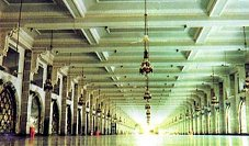 The second floor of Masa'a, as part of the first Saudi expansion of the Holy Mosque Click to view high resolution version
